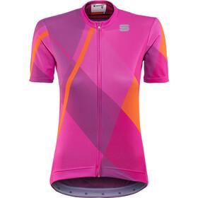 Sportful Aurora Koszulka kolarska, krótki rękaw Kobiety różowy